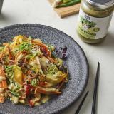 Kochbox Wokgemüse mit Nippon Express Dressing für Gemüse
