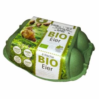 BIO Eier (6 Stück)