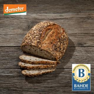 Leinsaat-Dinkel Bio-Brot