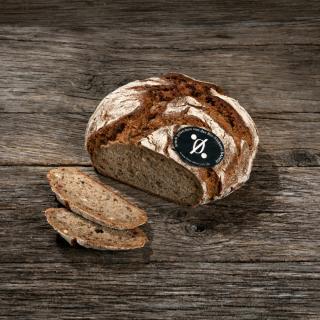 NullProzent-Kruste Bio-Brot