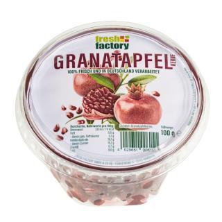 Granatapfelkerne, 100g Schale (Fresh Factory)