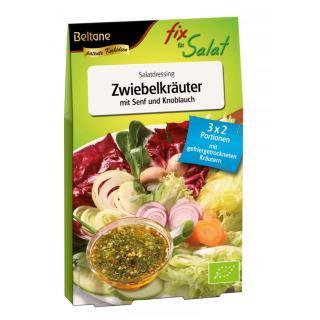 Fix Für Salat Zwiebelkräuter mit Senf & Knoblauch