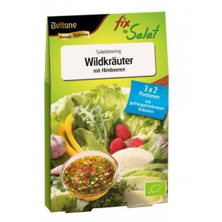 Fix Für Salat Wildkräuter mit Himbeeren