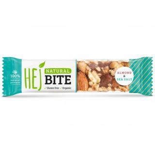 Hejbite Nuss-Riegel Almond & Sea Salt