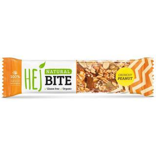 Hejbite Nuss-Riegel Crunchy Peanut