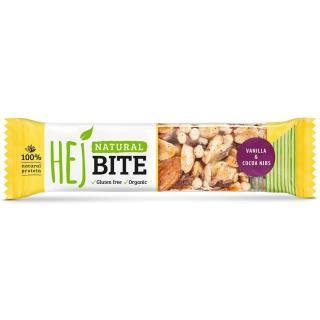 HEJ Natural Hejbite Nuss-Riegel Vanilla & Cocoa Nibs