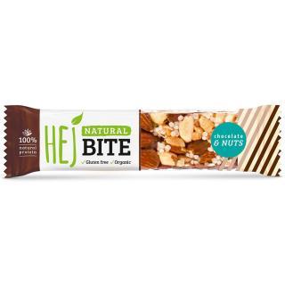 HEJ Natural Hejbite Nuss-Riegel Chocolate & Nuts