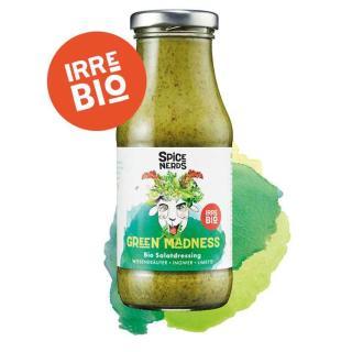 Green Madness - Herbes Salatdressing mit Wildkräutern und Limette - SpiceNerds