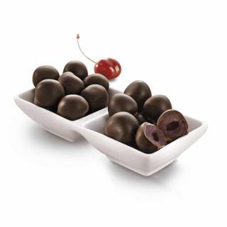 Amarena-Kirsch Drillinge Zartbitter Schokolade