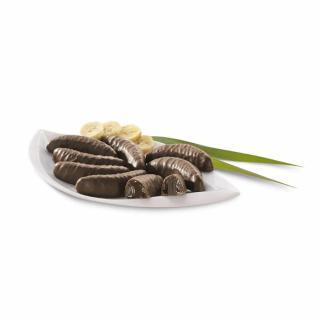 Banane in Limonensaft Vollmilch Schokolade