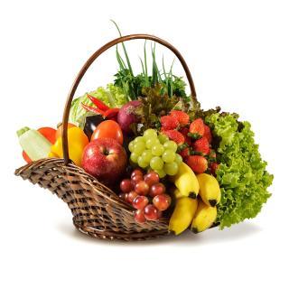 Geschenkkorb Grasbrook (Obst und Gemüse)