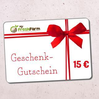 Wertgutschein 15 Euro