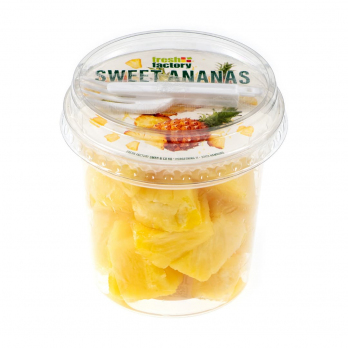 Ananaswürfel, 200g Schale (Fresh Factory)
